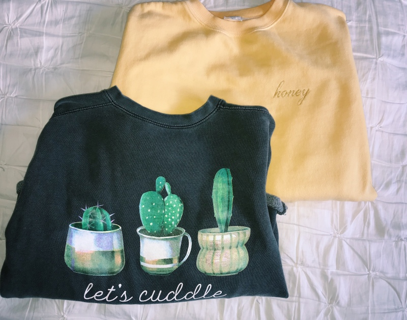 """4ae47240df82 I found my """"Let s Cuddle"""" sweatshirt at the local campus outfitters in  Ames"""